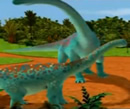 T-Rex Expressz - A hatalmas dinó - a kis dínók kal