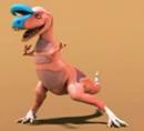 T-Rex Expressz - Király Cryolophosaurus
