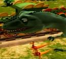 T-Rex Expressz - Laura,a Gigantosaurus